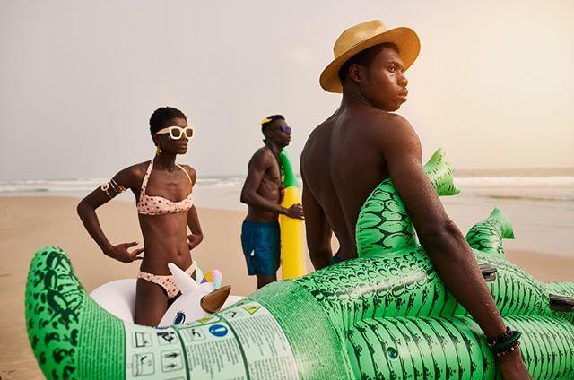 The Inflatables, Abidjan....#lifestylephotography #portraitphotography  #portrait #photography #lifestyle #africa #model #naturallight #advertising #photooftheday #photoshoot